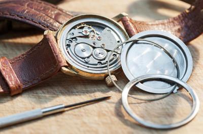 機械式時計オーバーホール